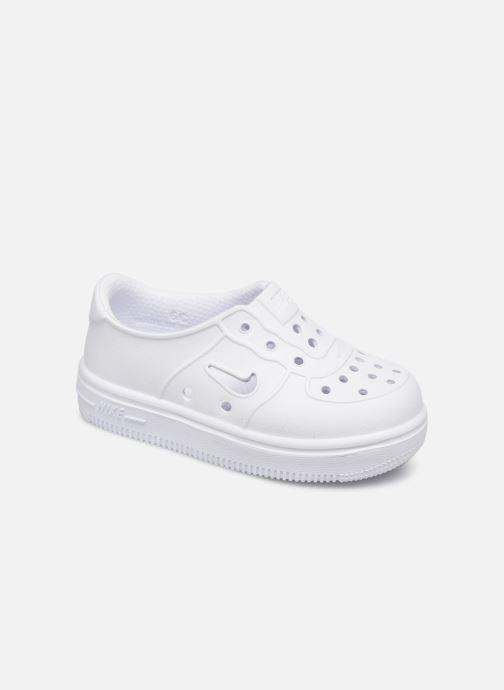 Sandales et nu-pieds Nike Nike Foam Force 1 (Td) Blanc vue détail/paire