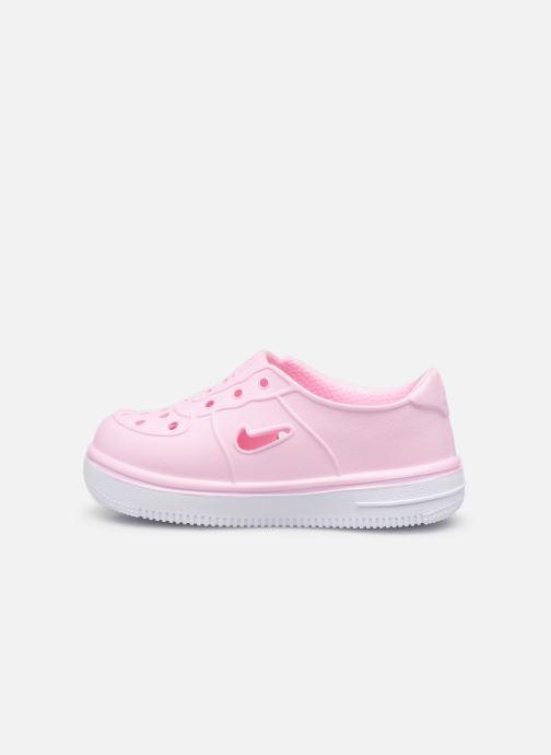 Sandalias Nike Nike Foam Force 1 (Td) Rosa vista de frente