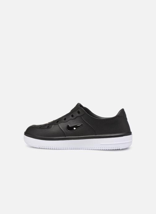 Sandales et nu-pieds Nike Nike Foam Force 1 (Ps) Noir vue face