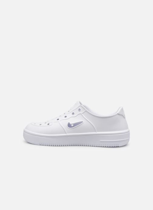 Sandalias Nike Nike Foam Force 1 (Ps) Blanco vista de frente