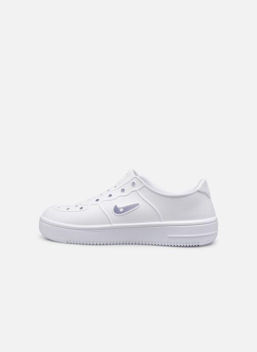 Sandales et nu-pieds Nike Nike Foam Force 1 (Ps) Blanc vue face