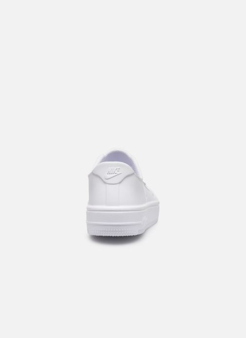 Sandalias Nike Nike Foam Force 1 (Ps) Blanco vista lateral derecha