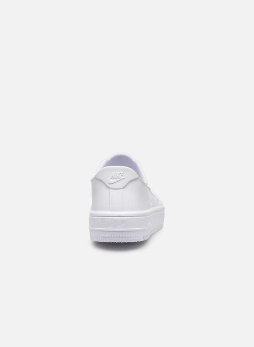Sandales et nu-pieds Nike Nike Foam Force 1 (Ps) Blanc vue droite