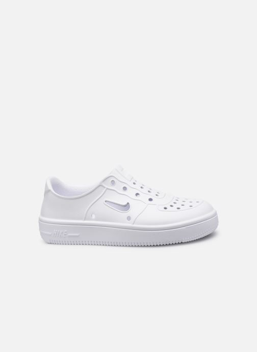 Sandalen Nike Nike Foam Force 1 (Ps) weiß ansicht von hinten