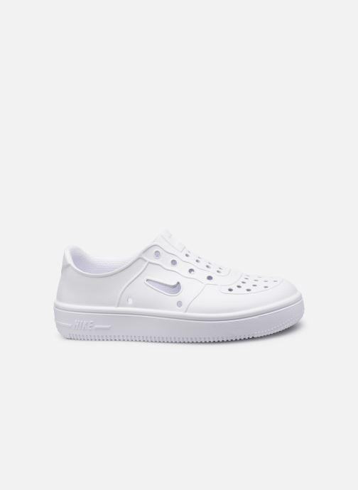 Sandales et nu-pieds Nike Nike Foam Force 1 (Ps) Blanc vue derrière