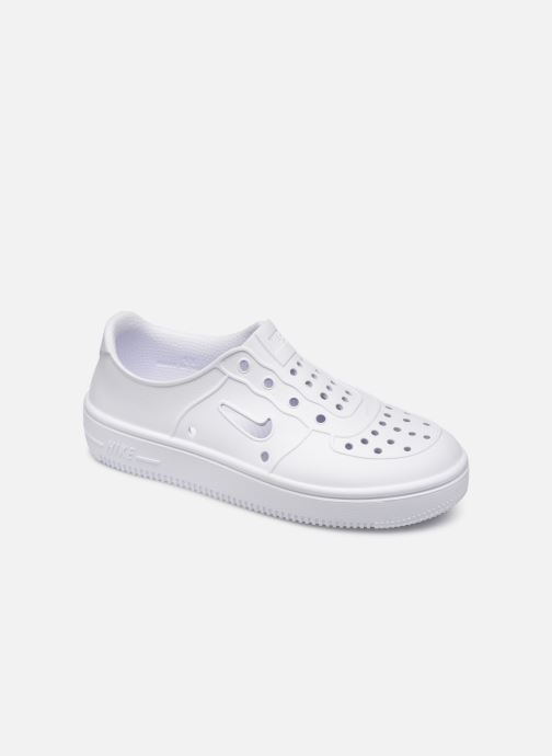 Sandals Nike Nike Foam Force 1 (Ps) White detailed view/ Pair view