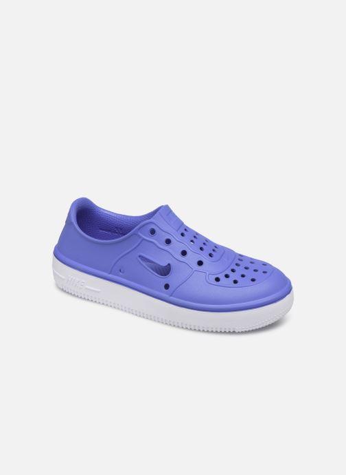 Sandales et nu-pieds Nike Nike Foam Force 1 (Ps) Bleu vue détail/paire