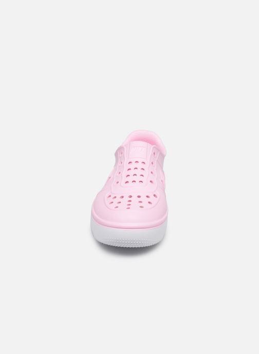 Sandales et nu-pieds Nike Nike Foam Force 1 (Ps) Rose vue portées chaussures