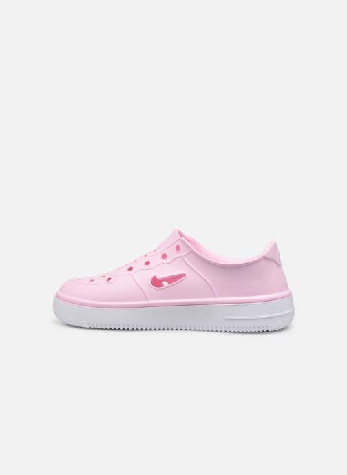 Sandalen Nike Nike Foam Force 1 (Ps) rosa ansicht von vorne