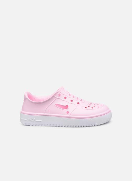 Sandales et nu-pieds Nike Nike Foam Force 1 (Ps) Rose vue derrière