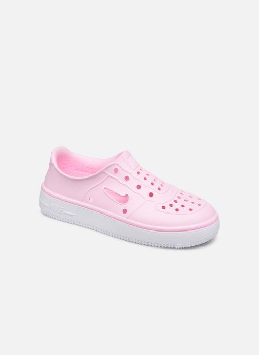 Sandales et nu-pieds Nike Nike Foam Force 1 (Ps) Rose vue détail/paire