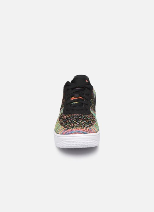 Baskets Nike Air Force 1 Flyknit 2.0 (Gs) Multicolore vue portées chaussures