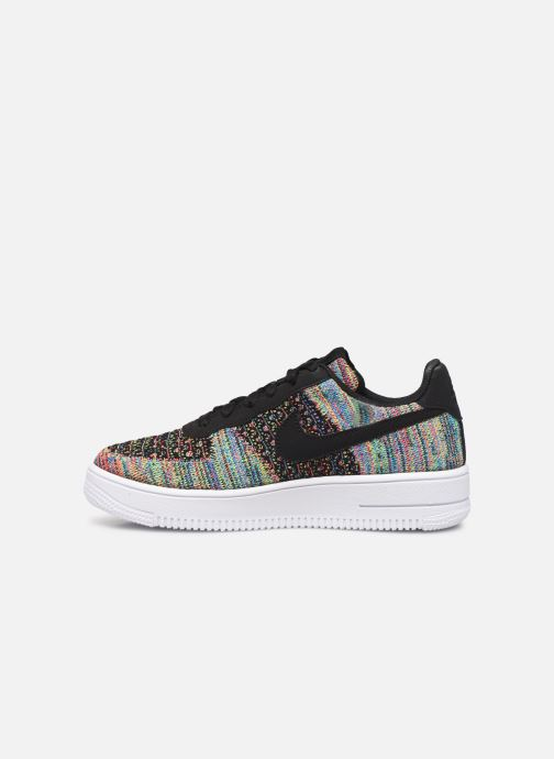 Baskets Nike Air Force 1 Flyknit 2.0 (Gs) Multicolore vue face