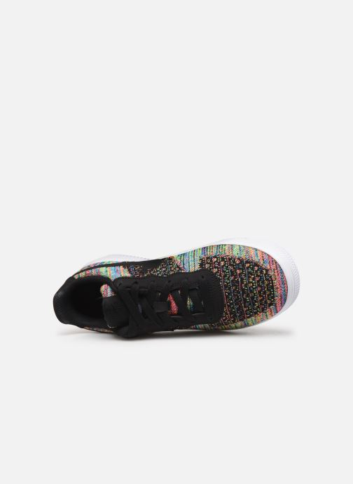 Baskets Nike Air Force 1 Flyknit 2.0 (Gs) Multicolore vue gauche