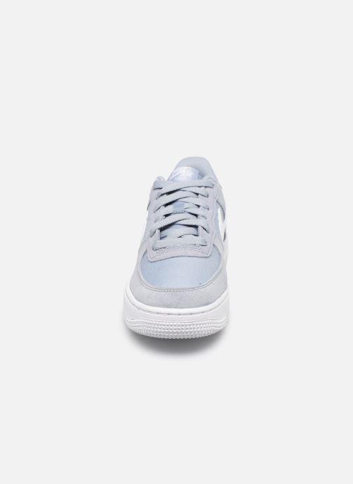 Deportivas Nike Nike Air Force 1 Pe (Gs) Azul vista del modelo
