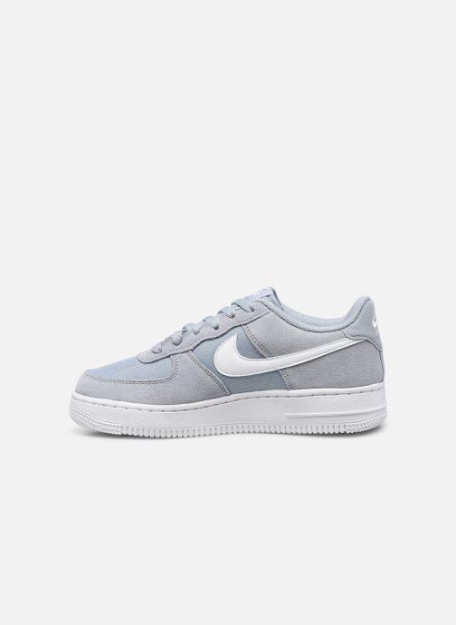 Sneakers Nike Nike Air Force 1 Pe (Gs) Blauw voorkant
