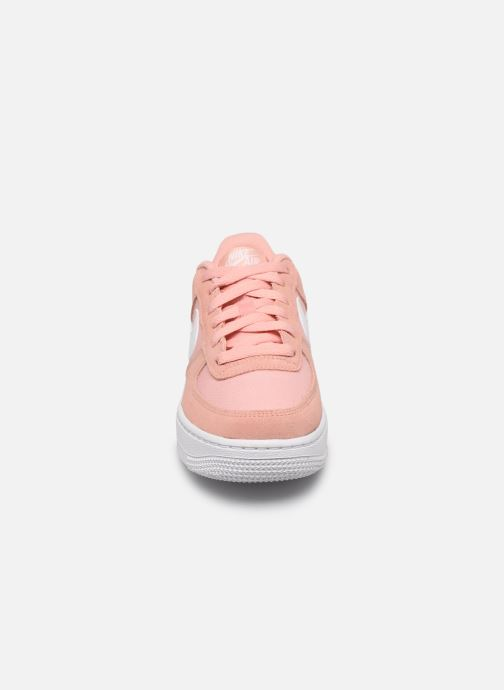 Sneakers Nike Nike Air Force 1 Pe (Gs) Rosa modello indossato