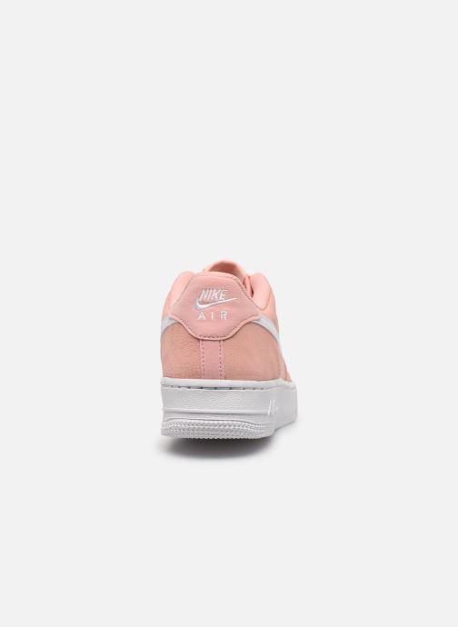 Sneakers Nike Nike Air Force 1 Pe (Gs) Rosa immagine destra
