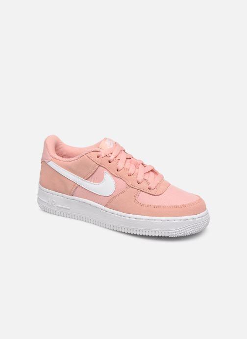 Deportivas Nike Nike Air Force 1 Pe (Gs) Rosa vista de detalle / par