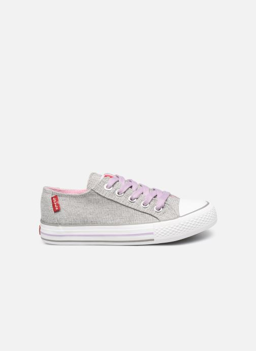 Trainers Levi's Trucker Low Glitter Grey back view