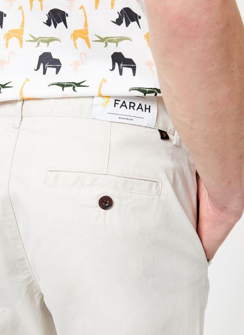 Vêtements Farah F4BS6021 Beige vue face