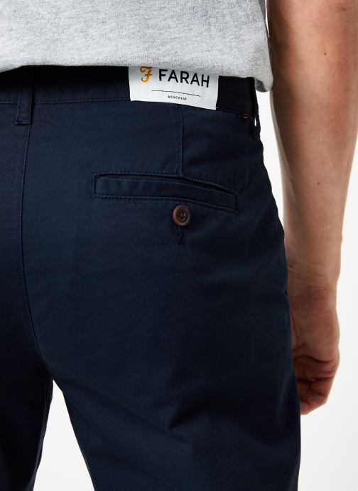 Vêtements Farah F4BS6021 Bleu vue face