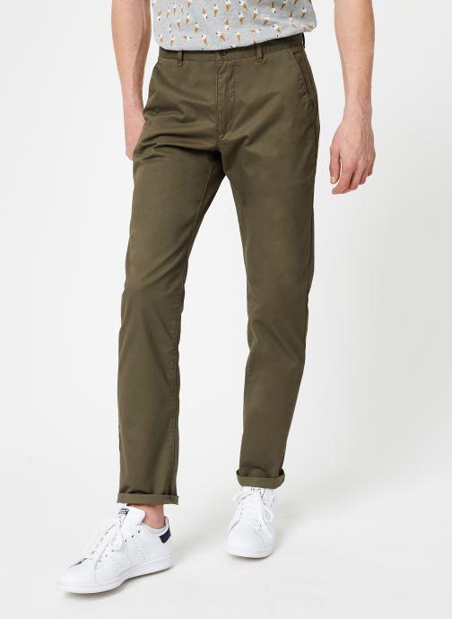Vêtements Farah F4BS6021 Vert vue détail/paire