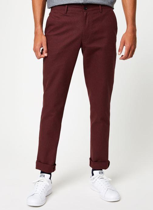 Pantalon droit - F4BS9093 - Bordeaux