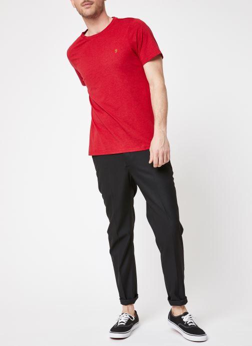 Vêtements Farah F4KS70X3 Rouge vue bas / vue portée sac