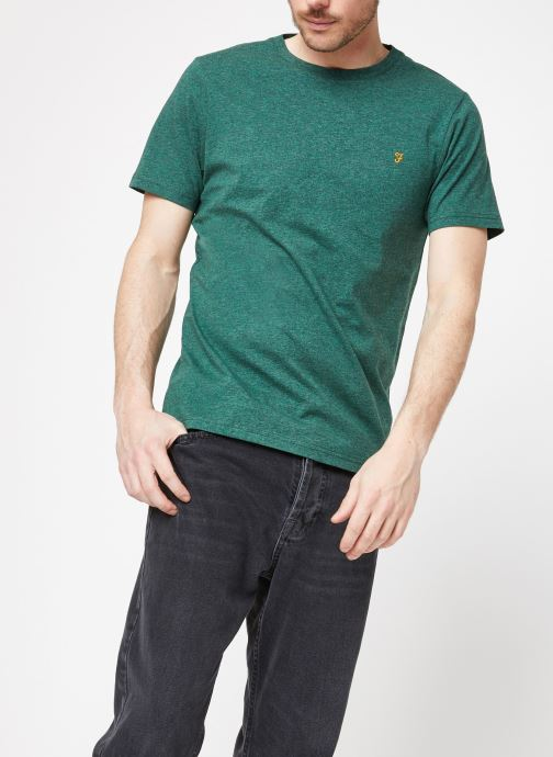 Vêtements Farah F4KS70X3 Vert vue droite
