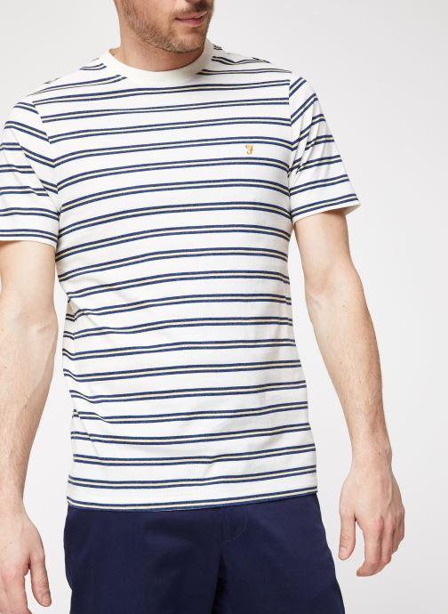 Vêtements Farah F4KS9018 Blanc vue détail/paire