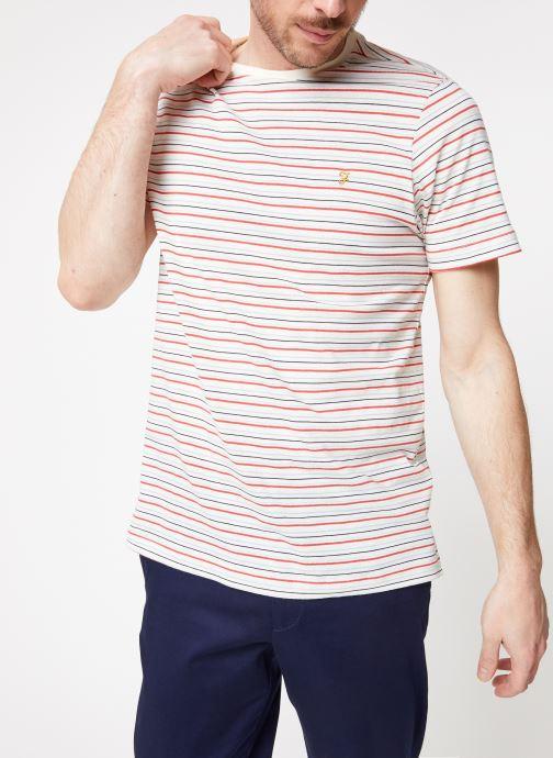 Vêtements Farah F4KS9020 Blanc vue détail/paire