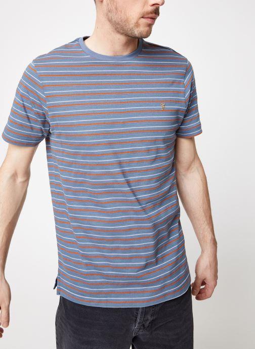 Vêtements Farah F4KS9020 Bleu vue détail/paire
