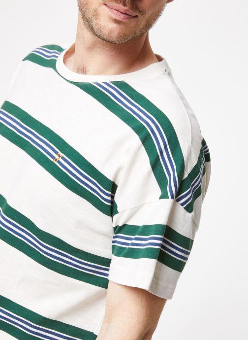 Vêtements Farah F4KS9043 Blanc vue face