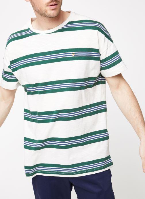 Vêtements Farah F4KS9043 Blanc vue détail/paire