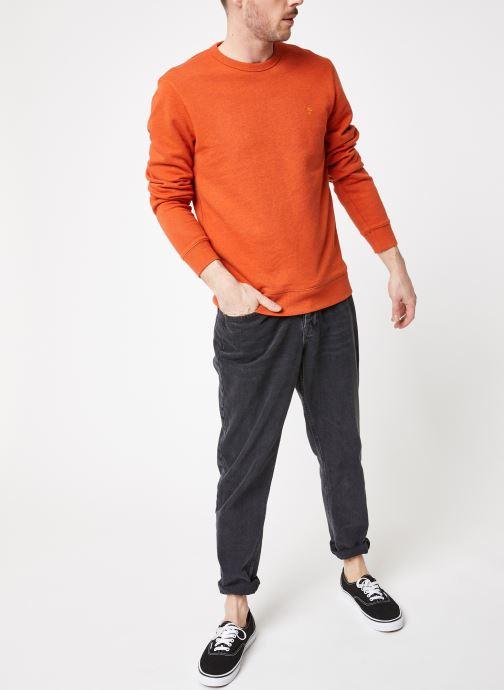 Vêtements Farah F4KS80H1 Orange vue bas / vue portée sac