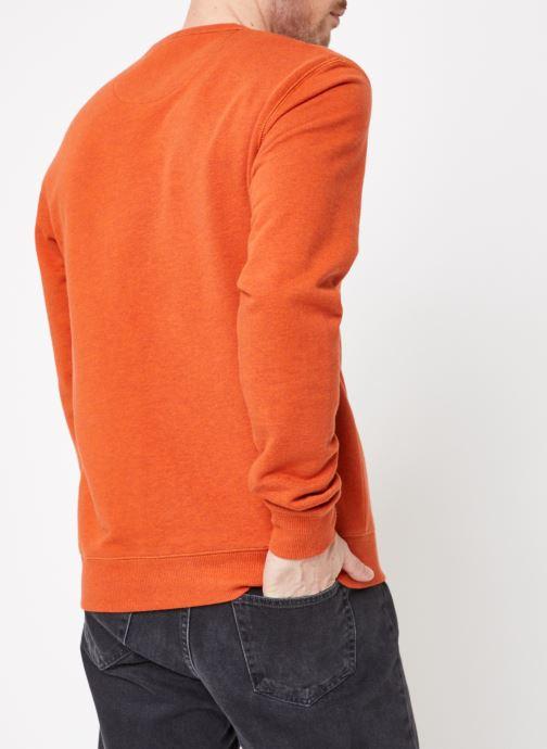 Vêtements Farah F4KS80H1 Orange vue portées chaussures