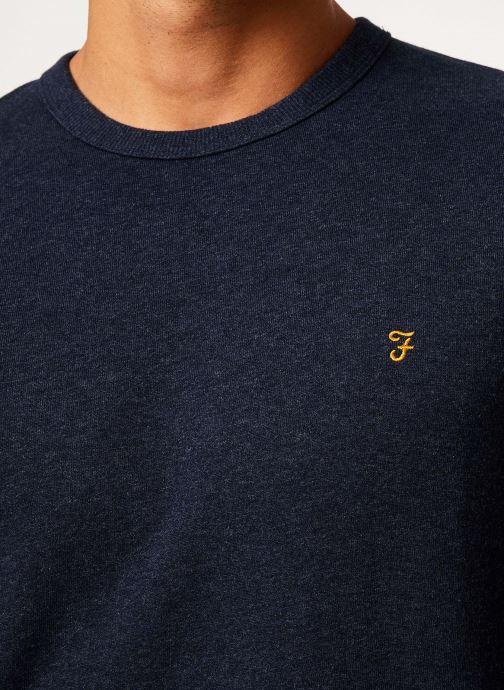 Vêtements Farah F4KS80H1 Bleu vue face