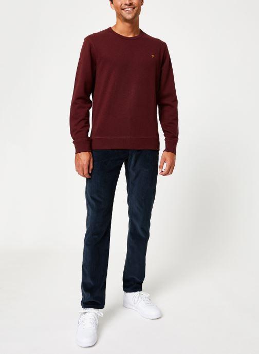 Vêtements Farah F4KS80H1 Rouge vue bas / vue portée sac