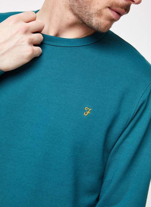Vêtements Farah F4KS70V5 Vert vue face