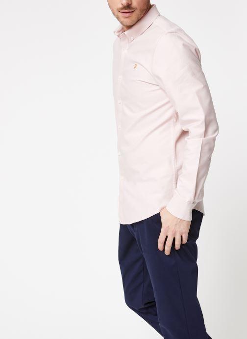 Tøj Farah F4WS4054 Pink Se fra højre