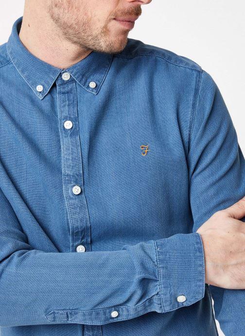 Tøj Farah F4WF8005 Blå se forfra