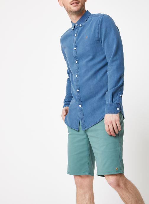 Tøj Farah F4WF8005 Blå Se fra højre