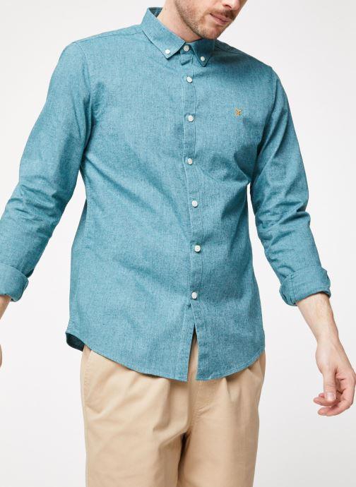 Vêtements Farah F4WF4040 Bleu vue détail/paire