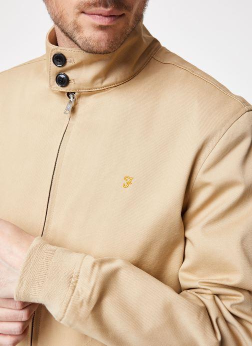 Vêtements Farah F4RS9002 Beige vue face