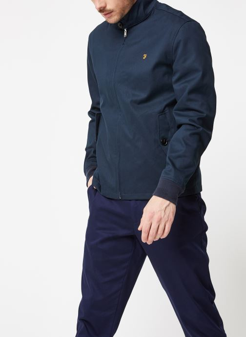 Vêtements Farah F4RS9002 Bleu vue droite