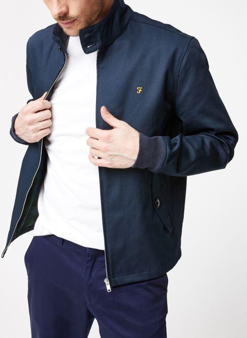 Vêtements Farah F4RS9002 Bleu vue détail/paire