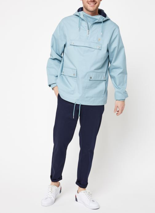 Vêtements Farah F4RS9005 Bleu vue bas / vue portée sac
