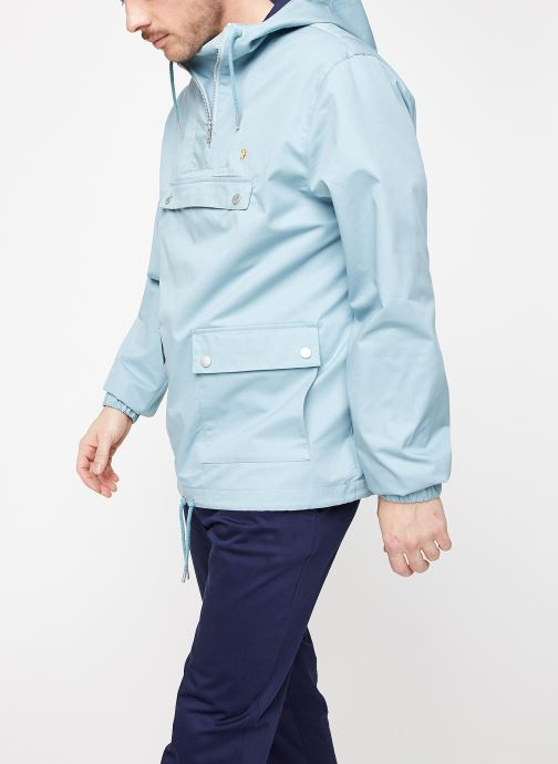 Vêtements Farah F4RS9005 Bleu vue droite