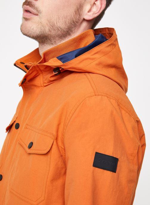 Vêtements Farah F4RS9007 Orange vue face